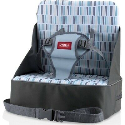 Baby Toddler Fabric Feeding Booster High Seat Above Chair Straps Child Portable