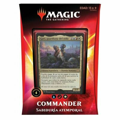 Magic Commander Ikoria: Sabiduria Atemporal (Español)