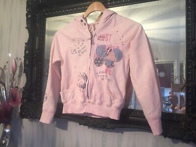 Girls Next Pink Hoodie Age 9 Years