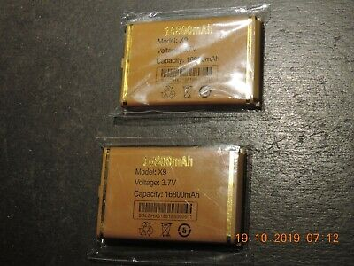cellphone battery large 16800 mha new