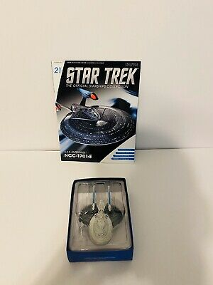 Eaglemoss Star Trek U.S.S Enterprise NCC-1701-E with Magazine, #EMST0021