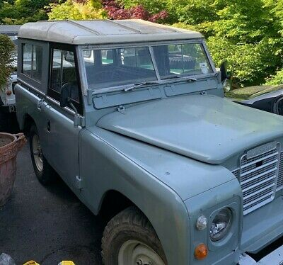Land Rover  1978 Series 3 Diesel hard top TAX AND MOT EXEMPT