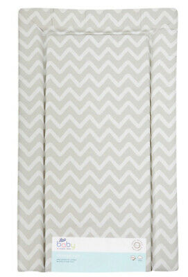 Boots Grey And White Zig Zag Padded Baby Changing Mat