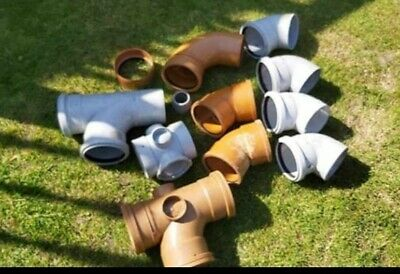 Rain and value waste Pipe Fittings