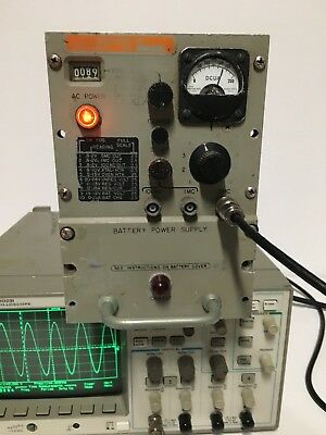 Vintage AN/URQ-10 Precision NAVY Frequency Standard!