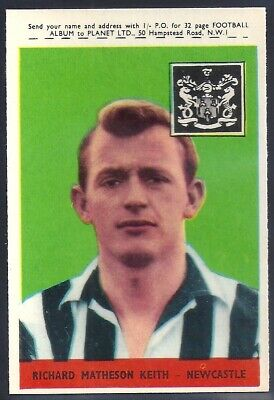 ROBSON 01-46 1958-#07- WEST BROM WBA A/&BC-FOOTBALL WITH PLANET