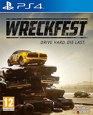 Wreckfest (PS4) (New) - (Free Postage)