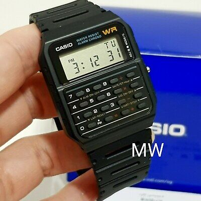 Casio CA-53W-1Z CA53W 53W Digital Calculator Retro Vintage Rubber Watch FreeShip