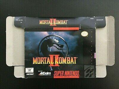 *Box Only* Mortal Kombat II 2 (Super Nintendo Entertainment System, SNES)
