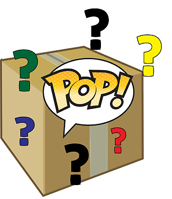 Funko Pop! Mystery Box – Grails + Chase + Exclusives + Commons