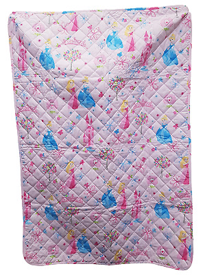 Quilt Quilt Quilted Bedspread Baby Crib/Cot CALEFFI Petit Princess