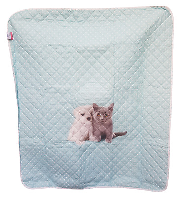 Quilt Quilt Quilted Bedspread Baby Crib/Cot CALEFFI Puppy