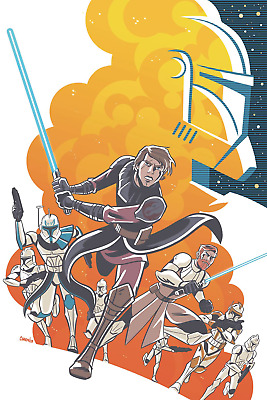 Star Wars Adventures Clone Wars #1 (Cvr A Charm) Idw Publishing Comic Book 2020