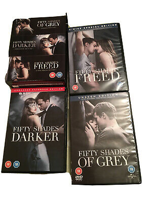 Fifty Shades 3-movie Collection (DVD, 2018) Never Watched