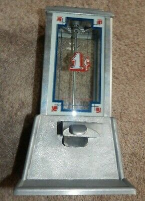 Vintage Original 1972 Dean Penny Working Gum Machine