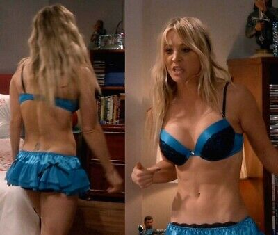 Kaley Cuoco - In Panty And Bra !!!