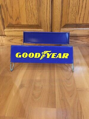 Vintage Goodyear Tires Advertising Tire Stand Automotive Gas Oil Sign