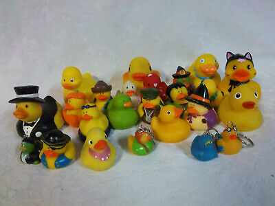 Rubber Duck Bathtub Toys Squirting Floating Halloween 1.5-3.5 Toy