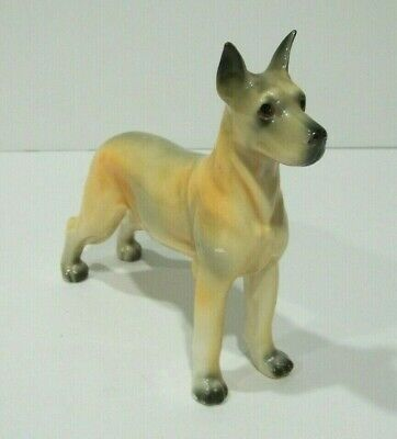 Vintage Large GREAT DANE Dog Figurine Japan VGC