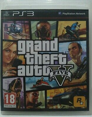 Grand Theft Auto V. GTA V. Ps3. Fisico. Pal Esp