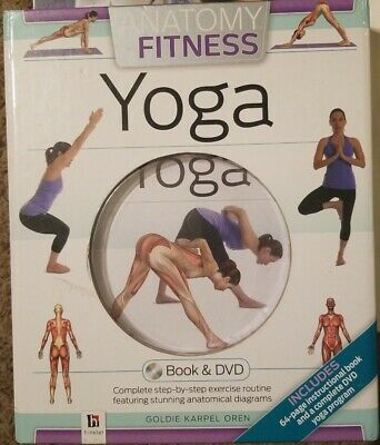 Fitness: Anatomy of Fitness: Yoga by Goldie Karpen Oren (2012, Spira…
