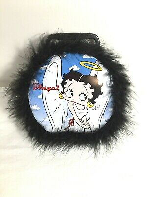 RARE Betty Boop Lunch Box With Feathers Angel Devil Classic