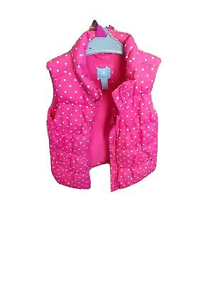 Girls Gap pink And Spotty Body Warmer Age 5 Years . Baby Gap