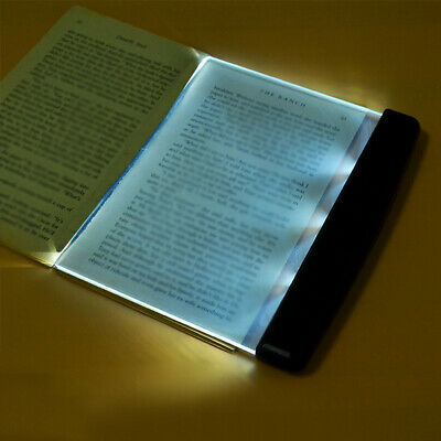 Battery Wireless Book Night Vision LED Panel Lamp Reading Fashion Portable