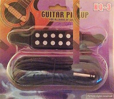 Acoustic Guitars Pick-up Electro pickup easy fit pickup to soundhole