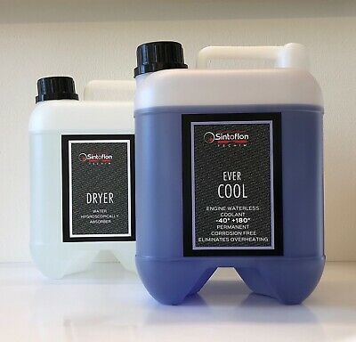 Sintoflon EVER COOL + DRYER Refrigerante NO acqua EVANS Classic Power Prep Fluid