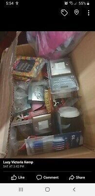 Box of 50 Mixed New Items JOB LOT Wholesale Stock Clearance UK SELLER FREE PP