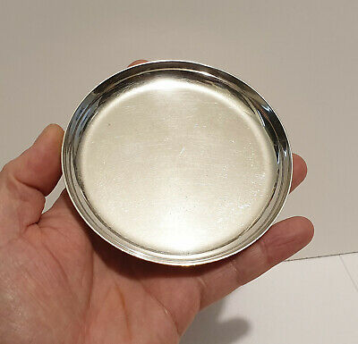 Vintage David Andersen Norway Sterling Silver Plated Large Pin Dish or Bowl