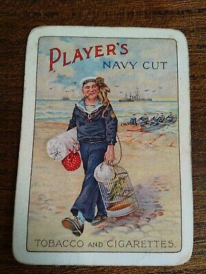 Vintage Collectable Playing Card Player's Navy Cut Tobacco And Cigarettes,...