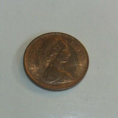 Rare Half Pence 1/2p New Penny 1977 collectable coin