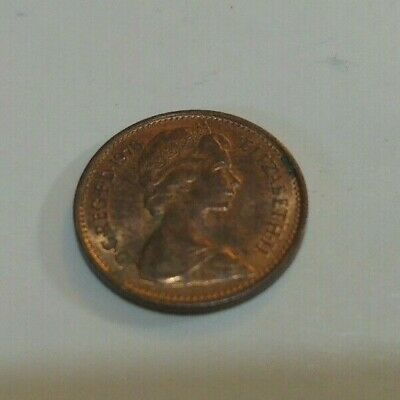 British 1978 Half Pence coin. New Penny, ½ pence
