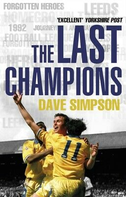 ID245z - Dave Simpson - The Last Champions   - Paperback - New