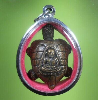 Perfect Lp Ngern Old Thai Buddha Amulet Very Rare !!!