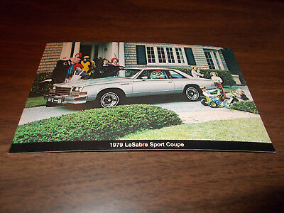 1979 Buick Le Sabre Sport Coupe Advertising Postcard