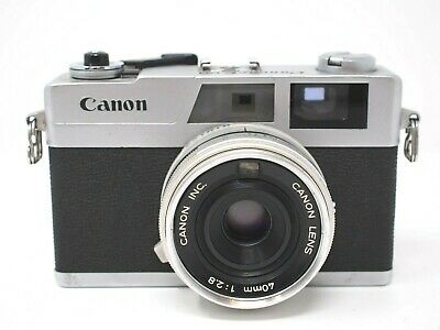 Canon Canonet 28 Rangefinder Camera
