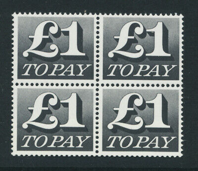 Great Britain (1970-1975) Postage Due £1 One Pound - Unmounted - Mint (MNH)