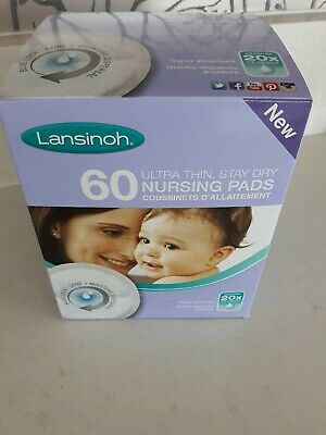 Lansinoh disposable nursing breast pads X 20 New in  Box