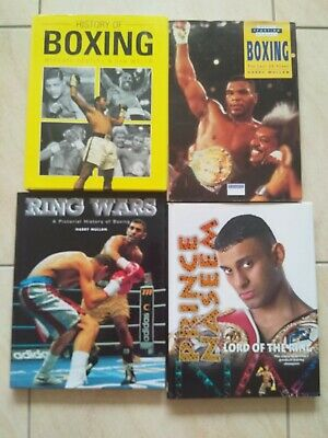Boxing Books (3) A Collection of 4 Publications Used