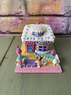 Polly Pocket Ice Cream Parlour Vanilla 100% Complete Excellent Condition (1)