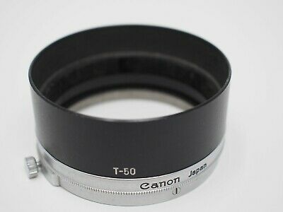 Canon T-50 Metal Lens Hood for Canonet