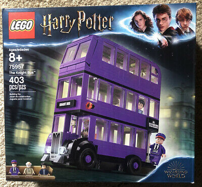 Lego 75957 Harry Potter NEW The Knight Bus Wizarding World 403 Pieces Sealed