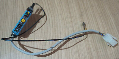 Fibre optic distance sensor with Adjustable gain (MIN/MAX) and timer, used