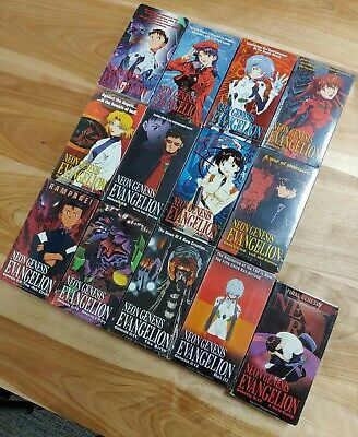 Neon Genesis Evangelion VHS Complete Set 1-13 Dubbed in English 13 Some Sealed!