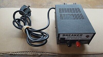 Breaker Regulated DC Power Supply Model No. 4750  Tested & Working