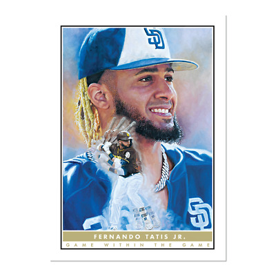 2020 Topps Game Within The Game #5 Fernando Tatis Jr. San Diego Padres