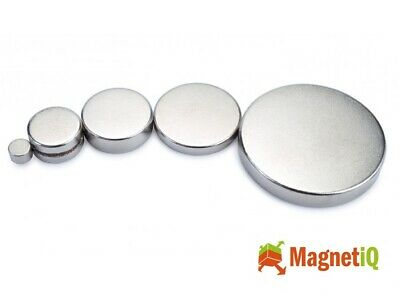 Neodymium Disc Magnets Rare Earth Disk Ring Super Strong Craft Various Strengths